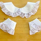 Аксессуары handmade. Livemaster - original item Removable accessory kit / white. Handmade.