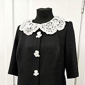 Одежда handmade. Livemaster - original item dresses: Black tweed dress in D&G style. Handmade.