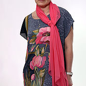 """Аксессуары ручной работы. Ярмарка Мастеров - ручная работа Под Ваш размер -""""Марго"""" -Платье с коралловыми маками. Handmade."""