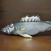 Дизайн и реклама handmade. Livemaster - original item fish decorative