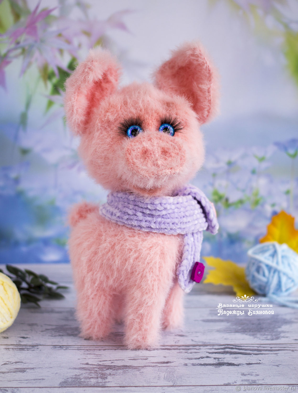 Pig Knitted Gift 21cm Shop Online On Livemaster With Shipping