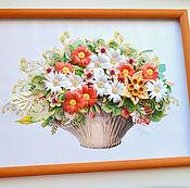 Картины ручной работы. Ярмарка Мастеров - ручная работа Картины А3 в технике Квиллинг. Handmade.