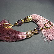 Украшения handmade. Livemaster - original item Earrings hand fluorite