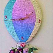Для дома и интерьера ручной работы. Ярмарка Мастеров - ручная работа часы -летняя фантазия. Handmade.