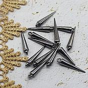 Материалы для творчества handmade. Livemaster - original item Beads for the Beak of the Hummingbird 25/5 mm. Handmade.