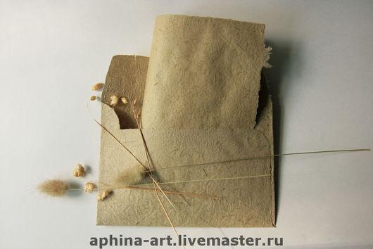 """Письменные приборы ручной работы. Ярмарка Мастеров - ручная работа. Купить """"Ретро""""- конверты и бумага ручной работы для писем. Handmade."""