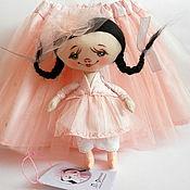Куклы и игрушки ручной работы. Ярмарка Мастеров - ручная работа Дарунка+юбочка. Handmade.