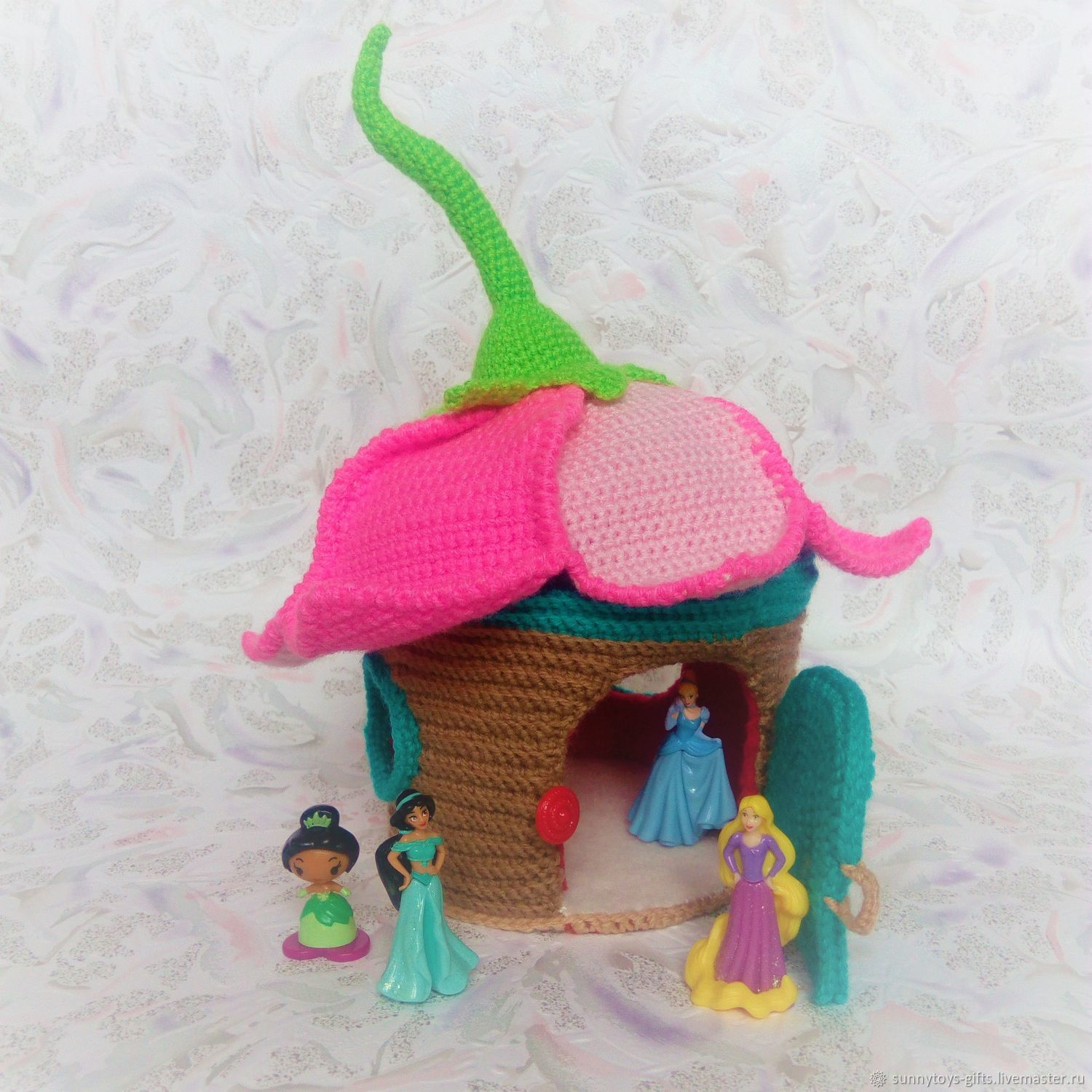 Knitted house game. For dolls and little fairies, Doll houses, Berezovsky,  Фото №1