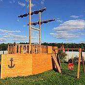 """Для дома и интерьера ручной работы. Ярмарка Мастеров - ручная работа Детский игровой домик """"Джек Пират"""". Handmade."""