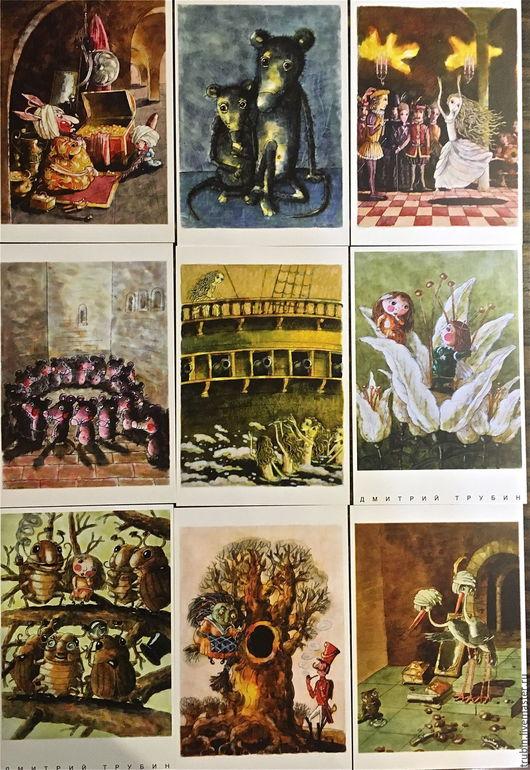 Открытки на все случаи жизни ручной работы. Ярмарка Мастеров - ручная работа. Купить По одной из разных сказок....Авторская открытка. Handmade.