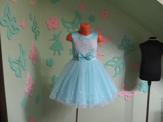 Одежда для девочек, ручной работы. Ярмарка Мастеров - ручная работа. Купить Нарядное платье для девочки. Handmade. Пышное платье, для девочки
