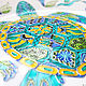 'Turtle-mastermind ' plate on the wall. Decorative plates. Art by Tanya Shest. Online shopping on My Livemaster.  Фото №2