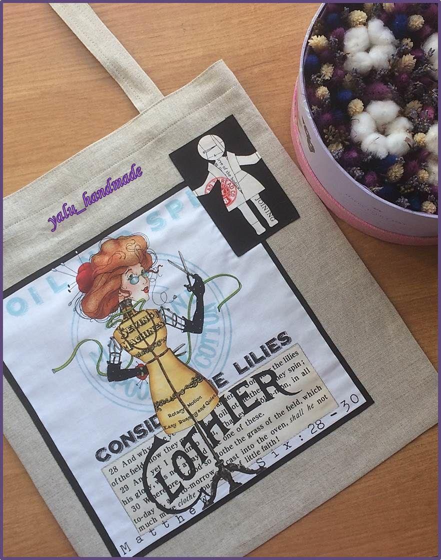 c9490b7c102d Женская сумка: льняная сумка, сумка с принтом, экосумка – купить в ...