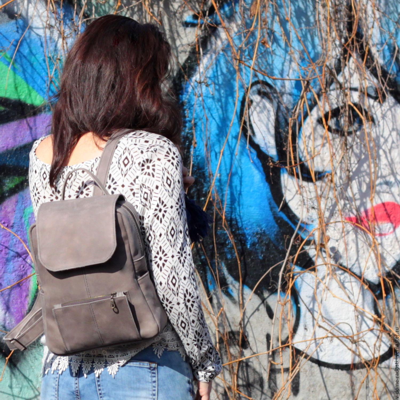 Рюкзак портфель, натуральная кожа, красивый рюкзак, купить рюкзак на лето, что подарить девушке, красивый рюкзачок, кожаный рюкзак женский. Мастер Сечкина Юлия