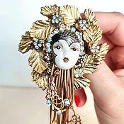 Винтаж handmade. Livemaster - original item Rare brooch Marena & Eros Germany. Handmade.
