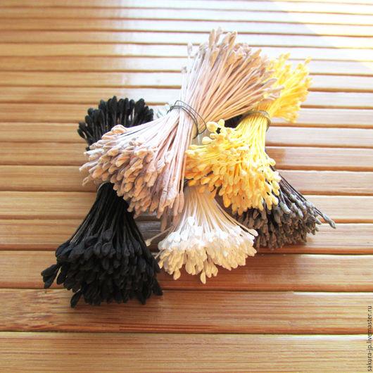 Японские тычинки М-размер. `САКУРА` - материалы для цветоделия. Ярмарка мастеров.