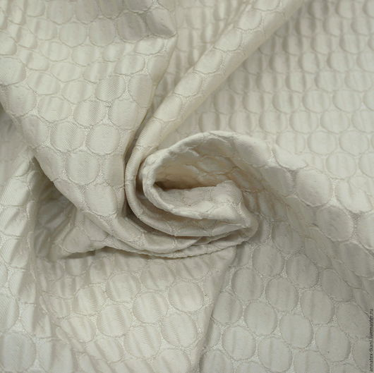 Портьерная ткань - цвет экрю