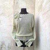 Одежда ручной работы. Ярмарка Мастеров - ручная работа свитерок вязаный. Handmade.