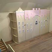 Для дома и интерьера ручной работы. Ярмарка Мастеров - ручная работа Шкаф в детскую Замок принцессы. Handmade.