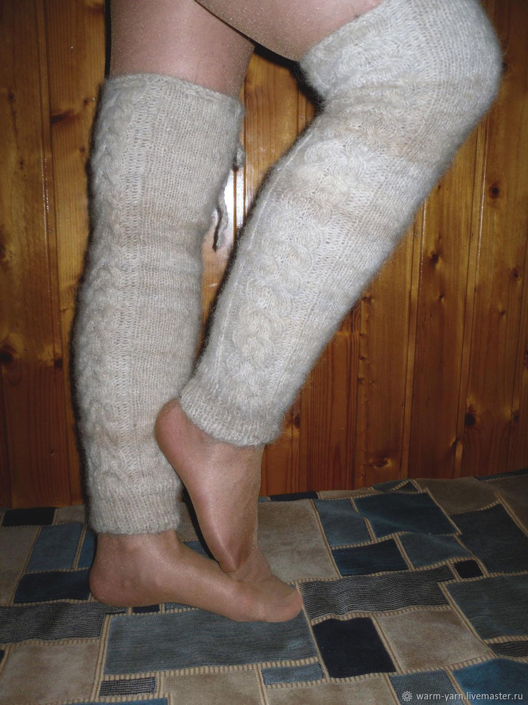 Women's knitted gaiters, Leg warmers, Klin,  Фото №1