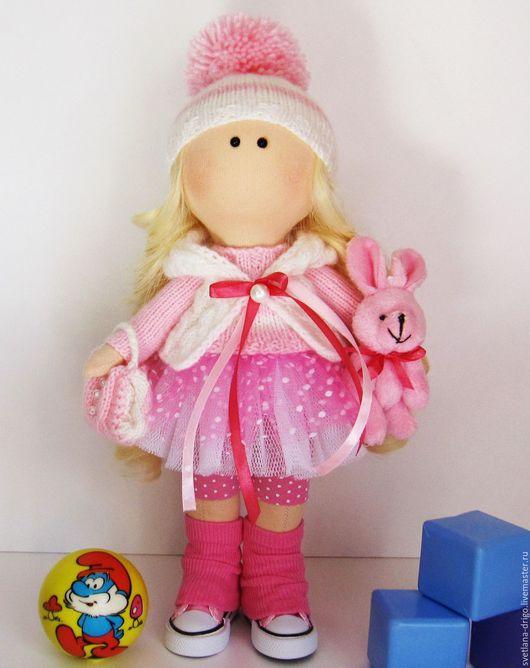 Человечки ручной работы. Ярмарка Мастеров - ручная работа. Купить Куколка Ася. Handmade. Текстильная кукла, куклы и игрушки