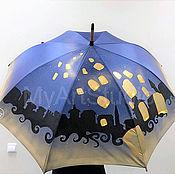 """Зонт ручной росписи """"Загадай желание!"""""""