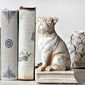 Для дома и интерьера handmade. Livemaster - original item Dog bookends, stopper for door Provence. Handmade.