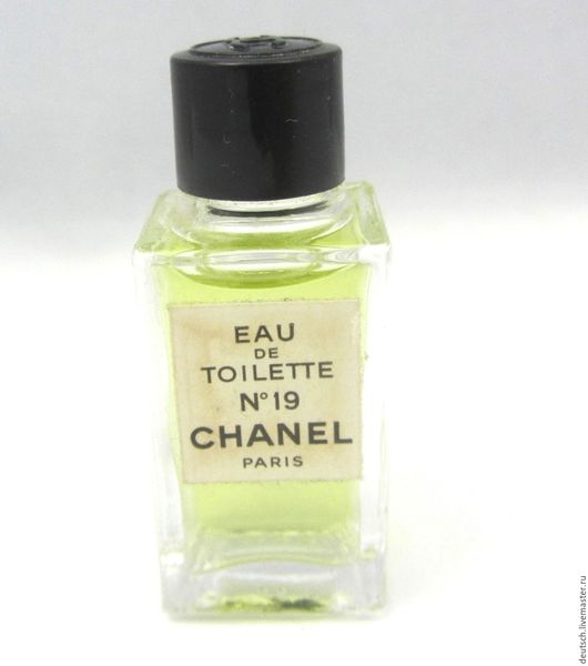 Винтажные предметы интерьера. Ярмарка Мастеров - ручная работа. Купить Chanel N19 Chanel 4 мл  едт винтажный парфюм миниатюра. Handmade.