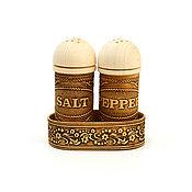 handmade. Livemaster - original item Salt-Pepper Spice Set. Set for kitchen. Handmade.