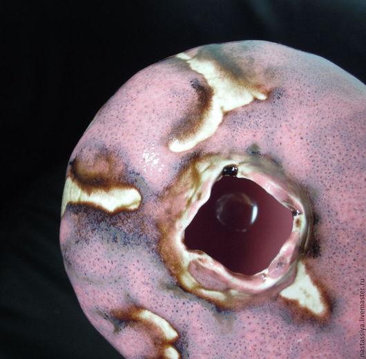 Статуэтки ручной работы. Ярмарка Мастеров - ручная работа. Купить Гранат № 14. Handmade. Розовый, керамика ручной работы