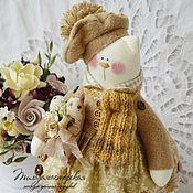 Куклы и игрушки ручной работы. Ярмарка Мастеров - ручная работа Кошечка Крем-брюле. Handmade.