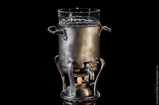 """Бокалы, стаканы ручной работы. Ярмарка Мастеров - ручная работа. Купить подстаканник """"Бульотка"""". Handmade. Бульотка, сталь"""