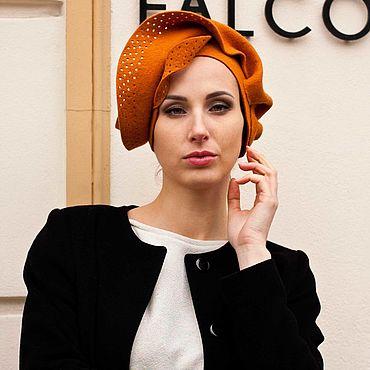 Accessories. Livemaster - original item hats: Hat felt