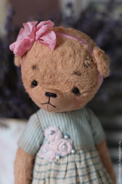 Мишки Тедди ручной работы. Ярмарка Мастеров - ручная работа. Купить Мила. Handmade. Мишка, ручная работа, бежевый, хлопок