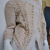 Одежда ручной работы. Ярмарка Мастеров - ручная работа Жакет  Вдохновение от Chanel. Handmade.