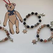 Работы для детей, ручной работы. Ярмарка Мастеров - ручная работа Детские браслеты-обереги. Handmade.