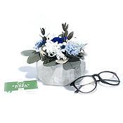 Цветы и флористика handmade. Livemaster - original item Composition of stabilized Mirissa flowers. Handmade.