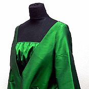 Одежда ручной работы. Ярмарка Мастеров - ручная работа Нарядный костюм из шелковой тафты. Handmade.