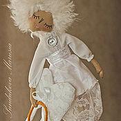 """Куклы и игрушки ручной работы. Ярмарка Мастеров - ручная работа """"Ангел Зефирка"""" - авторская кофейная куколка. Handmade."""