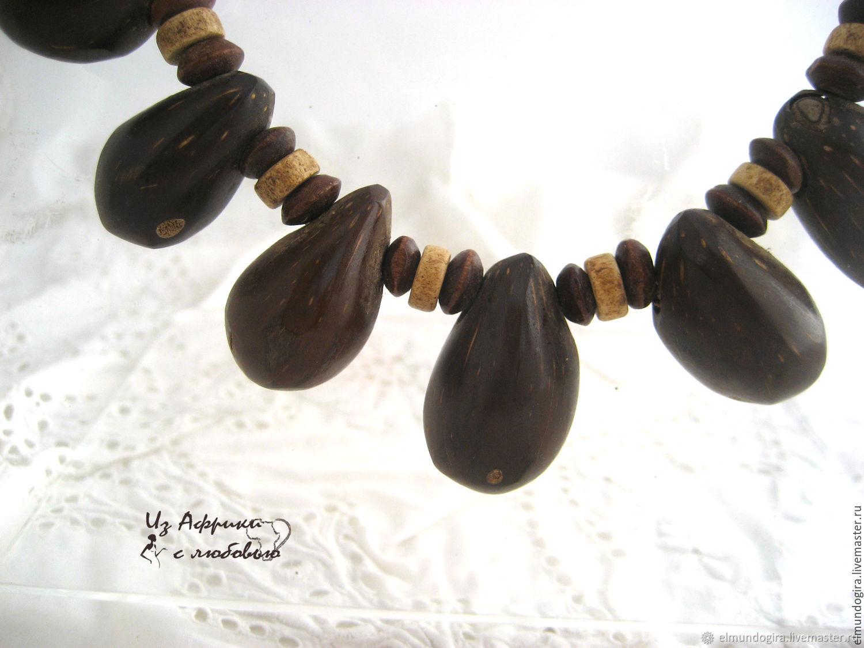 Браслет из ядрышек масличной африканской пальмы!