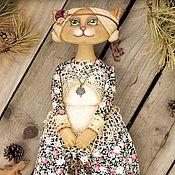 Куклы и игрушки ручной работы. Ярмарка Мастеров - ручная работа Чердачная кошечка Ключница. Хранительница домашнего уюта.. Handmade.