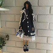 Куклы и игрушки handmade. Livemaster - original item Interior textile doll. Handmade.