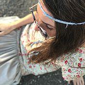 Одежда ручной работы. Ярмарка Мастеров - ручная работа Платье на кнопках (Топ Миди + Юбка Миди). Handmade.