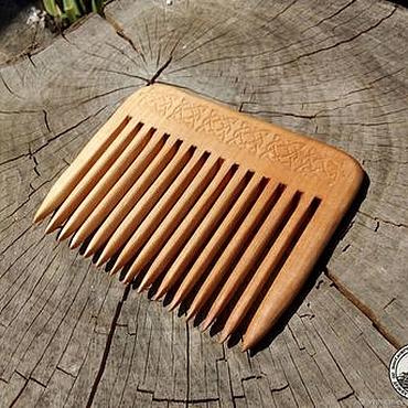 Сувениры и подарки ручной работы. Ярмарка Мастеров - ручная работа Гребень из клёна. Handmade.