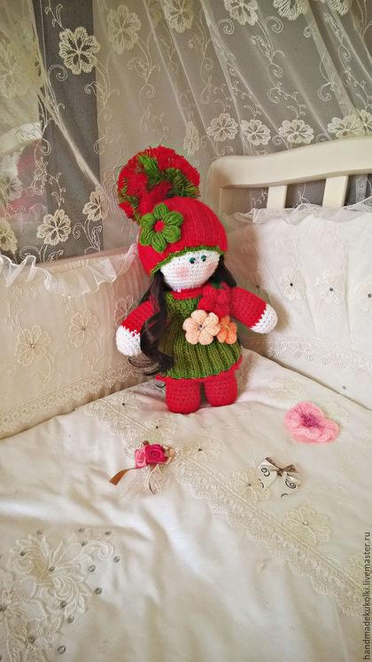 """Человечки ручной работы. Ярмарка Мастеров - ручная работа. Купить Кукла """"Красна Девица"""". Handmade. Комбинированный, интерьерная кукла, зеленый"""