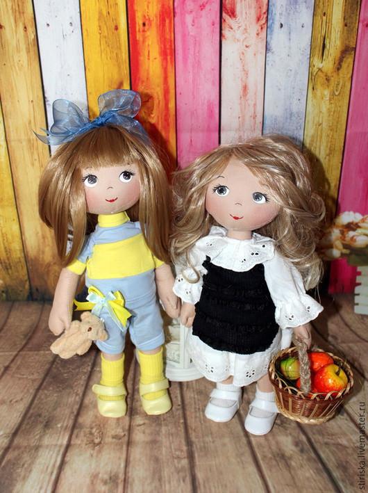 Портретные куклы ручной работы. Ярмарка Мастеров - ручная работа. Купить Куклы ручной работы. Handmade. Разноцветный, кукла портретная