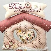 Куклы и игрушки ручной работы. Ярмарка Мастеров - ручная работа Домик - подвеска с птичками (мобиль). Handmade.