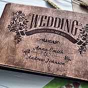 handmade. Livemaster - original item Photo album wedding: Albums with your design. Handmade.