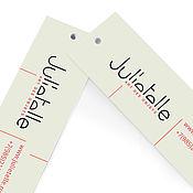 Дизайн и реклама ручной работы. Ярмарка Мастеров - ручная работа Фирменный стиль Julietelle. Handmade.