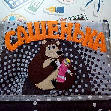 Для дома и интерьера ручной работы. Ярмарка Мастеров - ручная работа Кармашки на шкаф в детский садик.. Handmade.